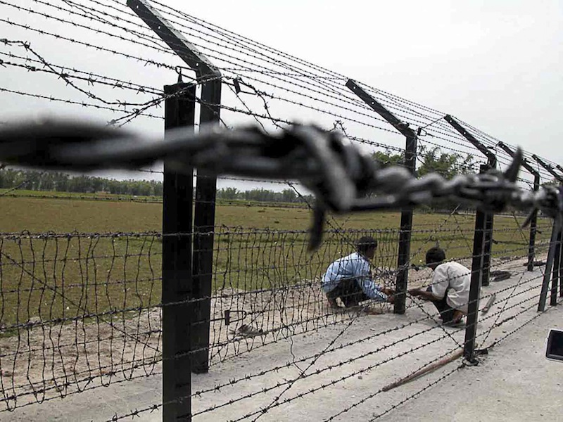 International Barbed Wire Border Fence (IBWBF)