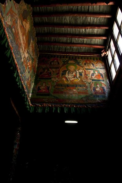 Tibetan murals since 15th century are seen in monasteries in Upper Mustang.