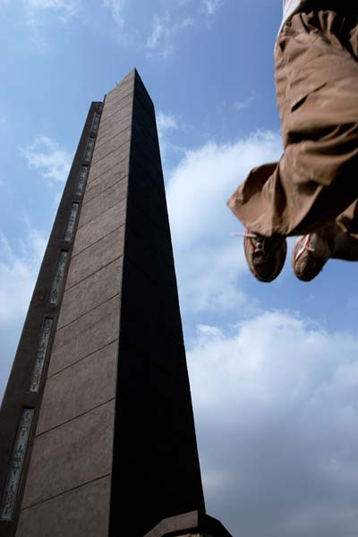 Saut de Precision, Le Parkour Indonesia
