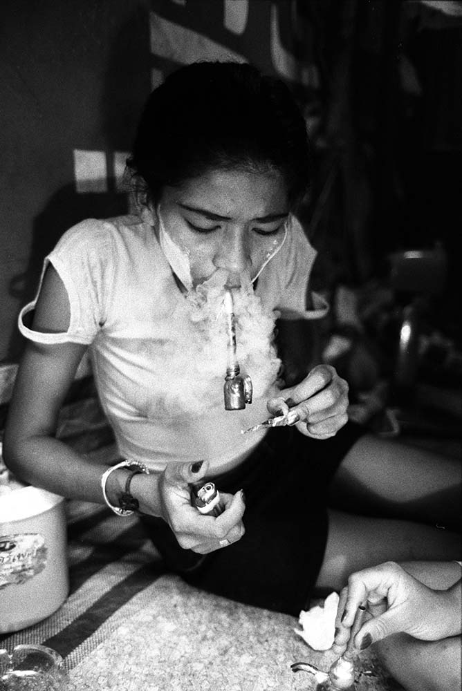 cute girls smoking weed