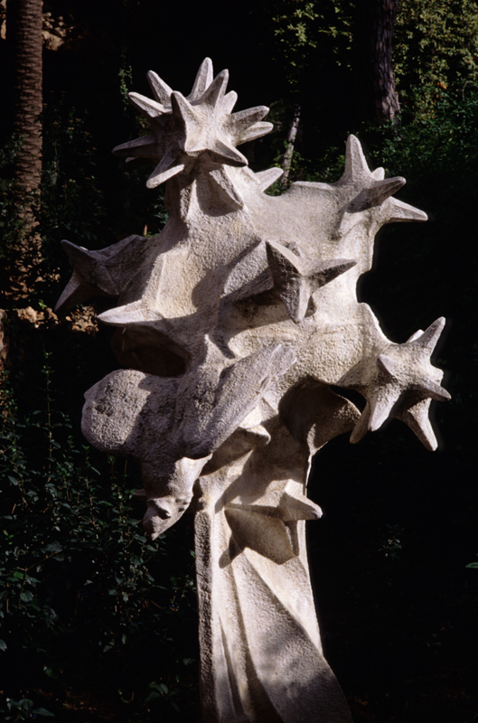 Sculpture in the Guell Park, Barcelona