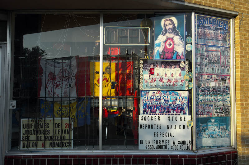 Deportes Najera, the place for all things soccer in Oak Cliff