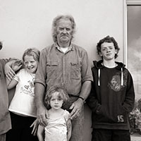 Padraig Poill Family, Inisheer, Aran Islands, Ireland, 2007