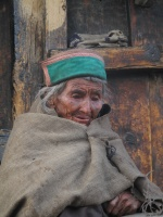 Old woman Chitkul