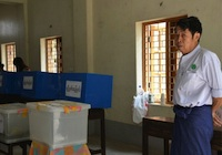 Burmese election official