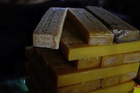 Blocks of soap