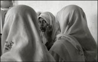 A girl during the morning class at an orphanage in Banda Aceh Indonesia
