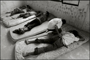 Boys are asleep during the siesta at an orphanage in Banda aceh Indonesia
