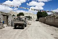 Lo Manthang is soon connecting with road from Kathmandu to Tibet Autonomous Region's capital Lhasa that many observers say will change the region.