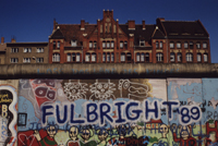 The Berlin Wall : Fullbright ; scholars indeed